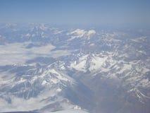 Die Süd-Anden südlich Llullaillaco in Chile stockfoto