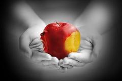 Die Sünde Apples Stockbild