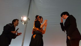 Die Sakura Matsuri Festival 2014 6 Stockbild