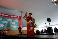 Die Sakura Matsuri Festival 2014 14 Lizenzfreies Stockbild