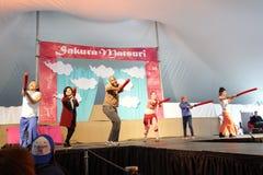 Die Sakura Matsuri Festival 2014 21 Lizenzfreies Stockbild