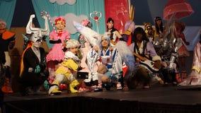 Die Sakura Matsuri Festival Cosplay Fashions-Show 2014 34 Lizenzfreie Stockfotos
