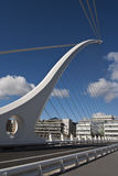 Die Samuel- Beckettbrücke Stockbilder