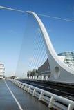 Die Samuel- Beckettbrücke in Dublin Stockfotografie