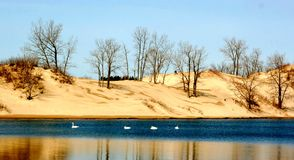 Die Sandbanken Lizenzfreies Stockbild