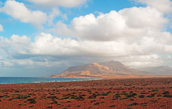 Die Sanddünen im Schutzgebiet von Archer, Socotrainsel, der Jemen Stockfotos