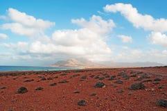 Die Sanddünen im Schutzgebiet von Archer, Socotrainsel, der Jemen Stockbilder