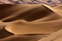 Die Sandhügel stockfoto