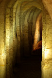 Die Sandhöhle Stockbilder