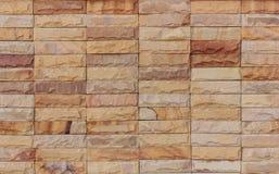 Die Sandsteinwände Stockfotos