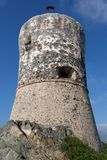 Die Sanguinaires-Inseln nahe Ajaccio in Korsika - Frankreich lizenzfreie stockfotografie