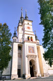 Die Sankt- Nikolauskirche stockbilder
