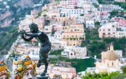 Die Satyrn von Positano Stockfotografie