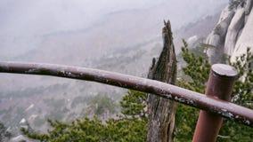 Die schöne Ansicht von der Hochgebirgespitze Ulsanbawi Stockbild