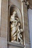 Die schöne Architektur Vatikans Stockfoto