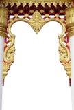 Die schöne arting Tür in Thailand Lizenzfreie Stockfotos