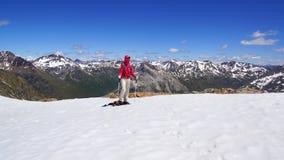 Die schöne Berglandschaft von Munt Pers 3207m Lizenzfreies Stockbild