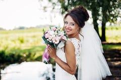 Die schöne Braut Stockbilder