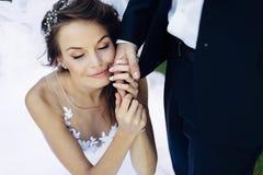 Die schöne Braut Stockfotografie