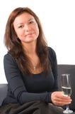 Die schöne Frau lizenzfreies stockfoto