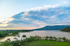 Die schöne Himmellandschaft stockfoto