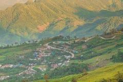 Die schöne Landschaft an Phu-Wanne Berk stockbild