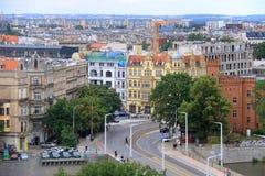 Die schöne Stadt von Breslau, Polen lizenzfreies stockfoto