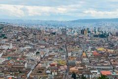 Die schöne Stadt von Quito, Ecuador Lizenzfreie Stockbilder