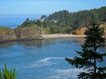 Die schöne szenische Oregon-Küste Stockbild