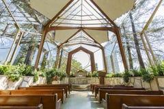 Die schöne Wayfarers-Kapelle Stockfotos