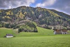 Die schönen szenischen Alpen des Europas Lizenzfreie Stockbilder