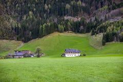 Die schönen szenischen Alpen des Europas Lizenzfreies Stockbild
