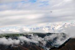 Die schönen Tianshan-Berge sind in Xinjiang, China Lizenzfreie Stockfotografie