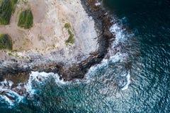 Die schönen Ufer von Maui Hawaii lizenzfreies stockfoto