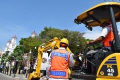 Die Schönheit der alten Stadt von Semarang Lizenzfreie Stockbilder