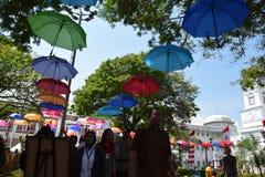 Die Schönheit der alten Stadt von Semarang Lizenzfreie Stockfotos