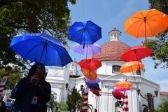 Die Schönheit der alten Stadt von Semarang Lizenzfreies Stockfoto