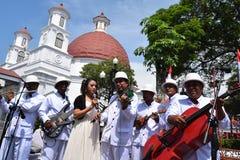 Die Schönheit der alten Stadt von Semarang Lizenzfreie Stockfotografie