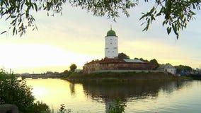 Die Schönheit der Architektur der alten europäischen Städte stock video