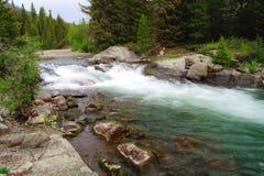 Die Schönheit des fließenden Wassers lizenzfreie stockfotografie