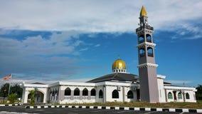 Die Schönheit und die Ruhe von Moschee Darul Ibadah Stockfotos