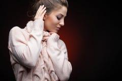 Die Schönheit und die Natürlichkeit der Mode stockbild