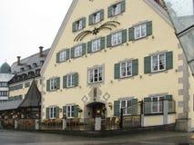 Die Schönheit und die Originalität der Hauptstadt in Tirol innsbruck lizenzfreies stockfoto