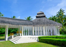 Die Schönheit von Malediven stockbilder