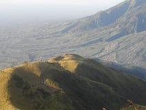 Die Schönheit von Merbabu Stockbilder