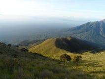 Die Schönheit von Merbabu Lizenzfreies Stockbild