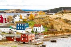 Die Schönheit von Neufundland-Dreiheit stockfoto