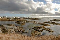 Die Schönheit von Neufundland-Newtown stockbild