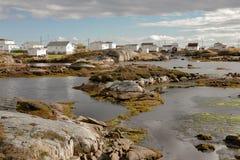 Die Schönheit von Neufundland-Newtown stockfoto
