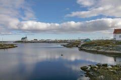 Die Schönheit von Neufundland-Newtown lizenzfreies stockbild